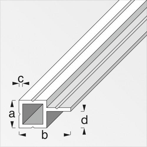 aluminium profiel vierkant