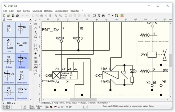 electrical plan program splan 7 0 tekenprogramma elektrische schema s de hobby  splan 7 0 tekenprogramma elektrische schema s de hobby